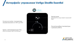 Бойлер Atlantic Vertigo Steatite Essential 80 MP-065 2F 220E-S